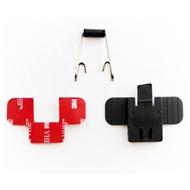 『鼎騰科技』M1 EVO/M1s EVO 主機專用固定套件 固定背扣+鐵夾