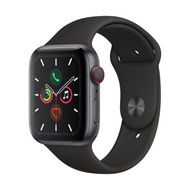 Apple Watch Series 5 GPSCellular 44mm, Space Grey Aluminum Case, Black Sport Band