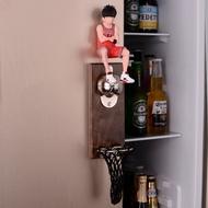 網紅籃球三井壽開瓶器冰箱貼灌籃高手啤酒起瓶器創意路飛酒起子