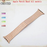 Stainless Steel Strap For Apple Watch Band 4 3 5 Band 44mm/40mm 42mm 38mm Belt for i watch Luxury Link Bracelet