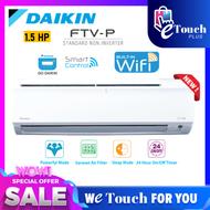 DAIKIN 1.5HP Smart Control - Wifi R32 Non Inverter Air Conditioner - FTV-P Model Air cond FTV35P / RV35F-3WM-G1F