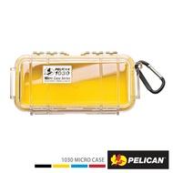PELICAN 1030 Micro Case 微型防水氣密箱-透明 黃 公司貨