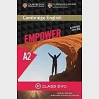 Cambridge English Empower Elementary Class DVD