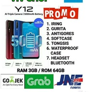 TJK228 VIVO Y12 RAM 3/64 GB GARANSI RESMI VIVO INDONESIA 1 TAHUN *66