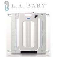 L.A. Baby 美國加州貝比 雙向自動上鎖安全門欄/圍欄/柵欄(附贈兩片延伸片)