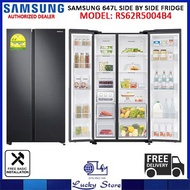 SAMSUNG RS62R5004B4 647L SIDE BY SIDE REFRIGERATOR, 2 TICKS, FREE DELIVERY