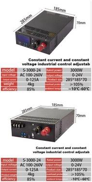 AC-DC digital display power transformer 3000W 200V to 12V 24v60v 80V 110V