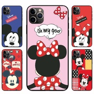 IPhone12 Pro Max 12mini  12 / 12 Pro Mickey Minnie Casing Soft Case Cover