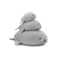療癒海豹抱枕 日本 LIV HEART 同款 靠枕 枕頭 絨毛娃娃 玩偶