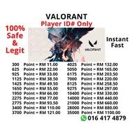 Valorant Point PC Valorant Malaysia 21000-35000