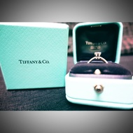 Tiffany 鑽戒 全新 六爪 八心八箭 0.38克拉 G VS1