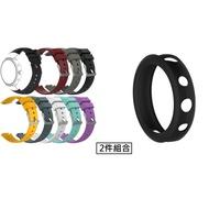 2件組合 ASUS ZenWatch3 軟膠矽膠錶帶+保護殼