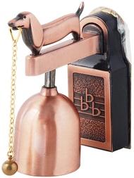 日本製造原裝進口 GB AP-011G 古銅色狗來富來客報知器/門鈴/來客鈴鐺