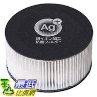 [東京直購] IRIS OHYAMA CF-FHK2 除塵?機配件 白色 銀離子抗菌過濾網 KIC-FAC2 適用CF FHK2