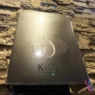 現貨供應 贈耳機架 AKG K872 專業級 監聽 耳罩式 耳機 封閉式 錄音 混音 可換線 36 歐姆