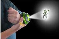 *時光*BANDAI地球保衛者 BEN 10投影手錶 小班玩具少年駭客變身器投影手錶BEN 10投影手錶