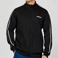 Adidas C90 TRACK JACKET 男款 黑色 立領 串標 休閒 運動 長袖 外套 EJ9671