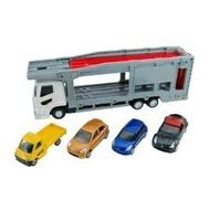 大賀屋 日貨 汽車 運輸車 Tomica 多美 小汽車 合金車 玩具車 拖板車 大拖車 兒童 正版 L00011243