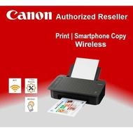 CANON PIXMA TS307 Single Function Inkjet Color Printer *Wifi* (Include BLACK & COLOR Ink)