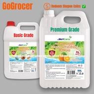 Netcare 5L Liquid Hand Sanitizer 75% Alcohol (5L/5 Litres/5000ml)