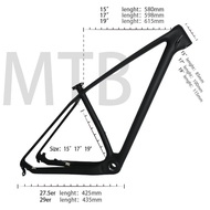 Carbon mtb Mountain Bikes Frame 29er T1000 UD Cheap China Carbon Bike Bicycle Frame mtb 29er 27.5er 15 17 19 Bike Carbon