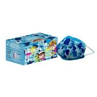 萊潔 醫療防護兒童口罩-童心迷彩藍(50入/盒裝)(衛生用品,恕不退貨,無法接受者勿下單)