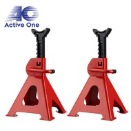 ACTIVEONE 3T 2pcs Thickened Car Jack Stand Repair Tool Adjustable Heavy Height Duty Floor Metal Jacks Jek Kereta ??? ????? - Fulfilled by ACTIVEONE