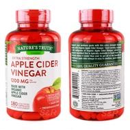 Nature's Truth Apple Cider Vinegar 1200 mg 180 tab