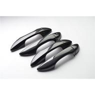 豐田 TOYOTA ALTIS 11代Z版11.5代X版通用 外把手 仿碳纖維門碗、門把手保護貼、卡夢.碳纖維貼 鍍鉻