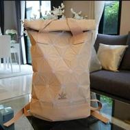 Adidas Adidas 3D Roll Top Backpack กระเป๋าเป้ Unisex ดีไซน์สุดฮิตสไตล์ ISSEY MIYAKE (งานแท้100%)