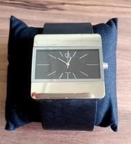 CK 時尚男用手錶 方形款 方型錶帶 男人流行粗曠