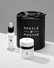 Pestle  Mortar Skincare Pestle  Mortar Hydrating Duo Gift Set - Pure Hyaluronic Serum 30ml  Moisturi