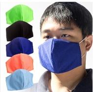 現貨-口罩套吸排素面黑(不含醫療口罩)