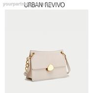 woman bagpack drawstring pouchURBAN REVIVO2019 autumn new women's accessories f