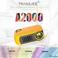 Mini Projector 4K A2000 1920*1080 Resolution Android WIFI Projector LED Portable HD Beamer for Home Cinema TRUING