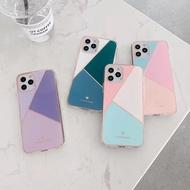 iPhone case Macaron colorful cover 12 pro max 12 mini 12 pro Apple cover spot