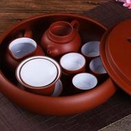 茶具紫砂功夫套裝現代家用簡約潮汕整套陶瓷茶盤茶壺茶杯泡茶套裝