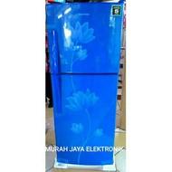 kulkas Polytron Belleza Kulkas Pintu 2 No Frost / Tanpa Bunga ES 210 liter ( KHUSUS BANDUNG )