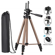 Tobeape Tobeape Camera Video Tripod, 50 inch Aluminum Lightweight Tripod with Travel Bag, Cellphone