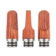long mouth smoking 510 drip tip MTL wooden cigarette holder anti scalding 510 universal sucking mouth duck mouth