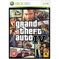 Xbox360 Game Grand Theft Auto [GTA] 4