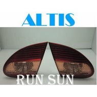 ●○RUN SUN 車燈,車材○● 全新 豐田 04 05 06 07 ALTIS 9代 原廠型內側 倒車燈 尾燈 一對