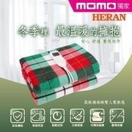 【HERAN 禾聯】高級珊瑚絨布雙人電熱毯(HEB-12N6)