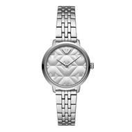 Emporio Armani AR11213 Analog Quartz Silver Stainless Steel Women Watch [Pre-Order]