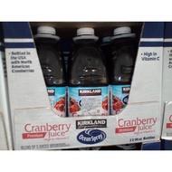 科克蘭 蔓越莓綜合果汁 (2.84公升)(一組一瓶幫您省運費)(幫幫買/好市多COSTCO代購)