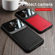 Leather PU case For oppo a5 2020 plexiglass Shockproof phone cover For oppo a9 2020 6.5