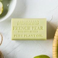 Australian Botanical Soap 澳洲製植物精油香皂 200g【法國梨子生薑】香皂 精油皂 手工皂 洗顏潔面 清潔沐浴