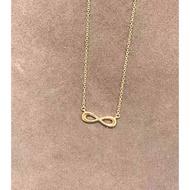 全新真品 Tiffany & Co 19新款 早夏 精美時尚 無限符號 玫瑰金 項鍊