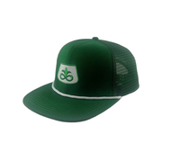 Pioneer Seed Vintage USA trucker cap Mesh and Embroidered patched logo premium quality Green