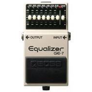 Boss GE-7 Equalizer EQ 等化器電吉他單顆效果(最受歡迎的 EQ 之一)[唐尼樂器]